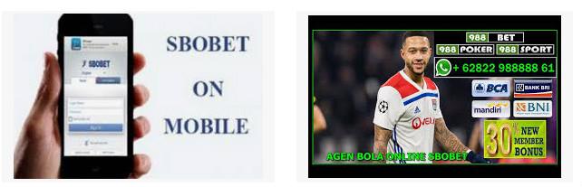 Keuntungan bikin akun member Sbobet melalui mobile