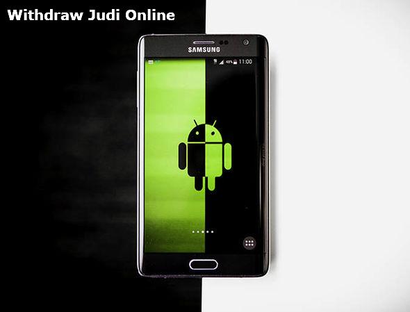 Withdraw judi online melalui android di sbobet mobile