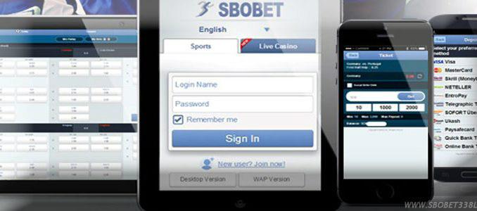 withdraw sbobet via iOs